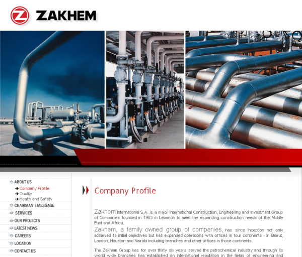 Family-owned, Zakum Ltd. in an alleged contract scam in Nigeria