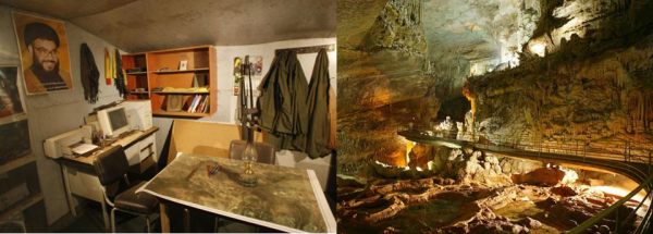 Twice as many visitors to the Resistance Museum (left) in its first 4 months, in comparison to Jeita Grotto (right) annually.